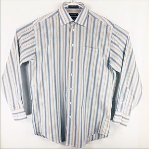 Nautica Striped Mens button down shirt